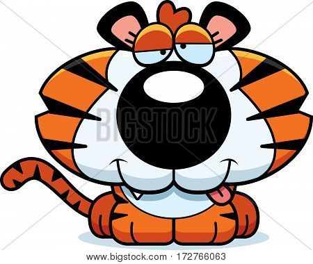 Cartoon Goofy Tiger Cub