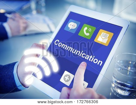 Technology Connection Communication Online Icon