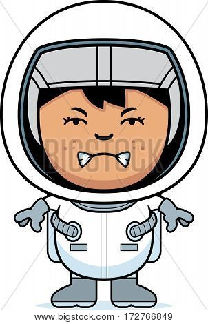 Angry Child Astronaut