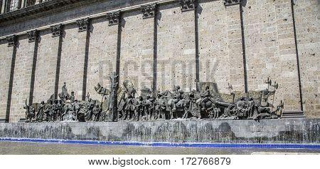 Historical Monument In Guadalajara