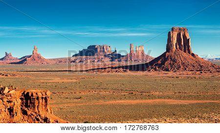 Desert Landscape - Monument Valley, Utah, USA