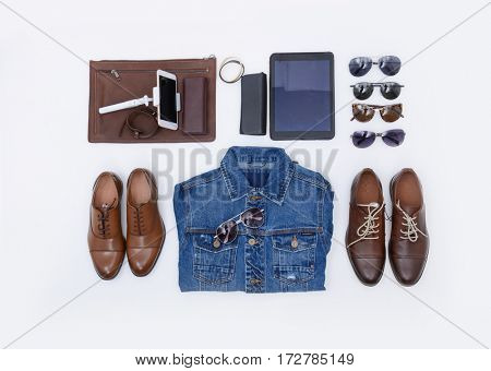 Men's fashion man clothing and accessories