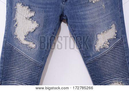Set of Leg torn Jeans