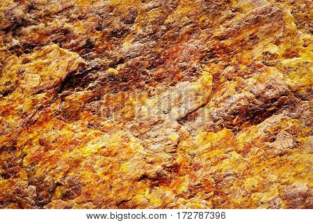 abstract background or texture fiery colored mineral mica