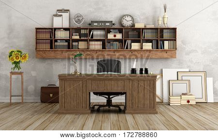 Home Office In Classic Style