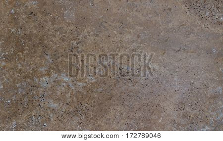 Natural Stone Texture With Hole On Surface Background