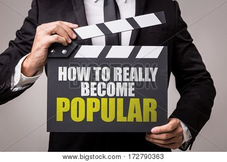 How To Really Become Popular