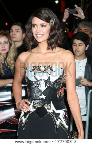 LOS ANGELES - JAN 19:  Nina Dobrev at the