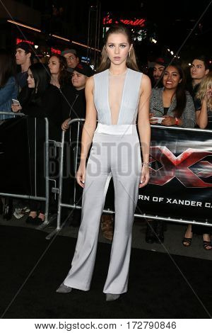LOS ANGELES - JAN 19:  Hermione Corfield at the