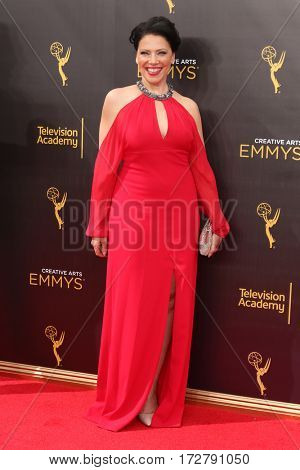 LOS ANGELES - SEP 11:  Kathleen Gati at the 2016 Primetime Creative Emmy Awards - Day 2 - Arrivals at the Microsoft Theater on September 11, 2016 in Los Angeles, CA