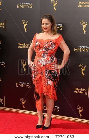 LOS ANGELES - SEP 11:  Kether Donohue at the 2016 Primetime Creative Emmy Awards - Day 2 - Arrivals at the Microsoft Theater on September 11, 2016 in Los Angeles, CA