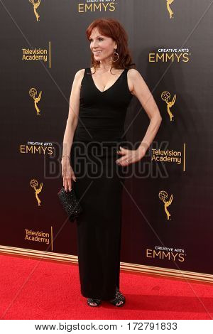 LOS ANGELES - SEP 11:  Marilu Henner at the 2016 Primetime Creative Emmy Awards - Day 2 - Arrivals at the Microsoft Theater on September 11, 2016 in Los Angeles, CA