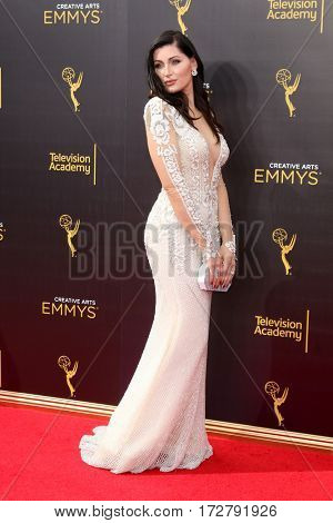 LOS ANGELES - SEP 10:  Trace Lysette at the 2016 Creative Arts Emmy Awards - Day 1 - Arrivals at the Microsoft Theater on September 10, 2016 in Los Angeles, CA