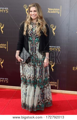 LOS ANGELES - SEP 10:  Danielle Fishel at the 2016 Creative Arts Emmy Awards - Day 1 - Arrivals at the Microsoft Theater on September 10, 2016 in Los Angeles, CA
