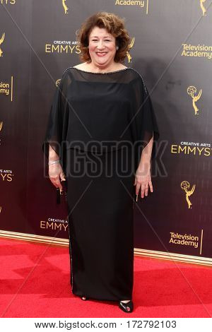 LOS ANGELES - SEP 10:  Margo Martindale at the 2016 Creative Arts Emmy Awards - Day 1 - Arrivals at the Microsoft Theater on September 10, 2016 in Los Angeles, CA