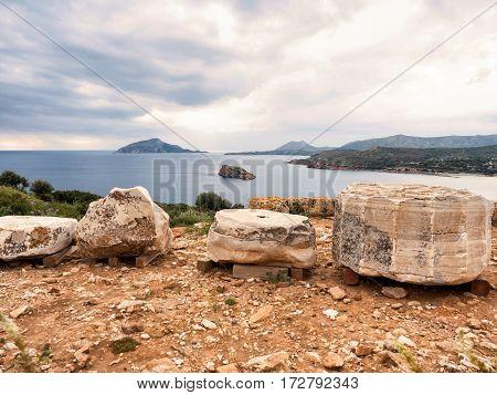 Sounio The Temple Of Poseidon