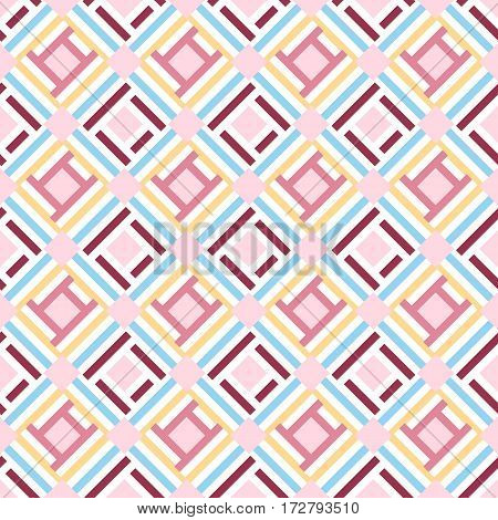 Abstract geometric seamless pattern background, vector eps 10