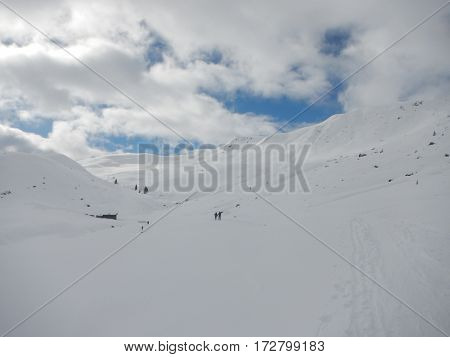 Winter Skitouring And Climbing In Austrian Alps