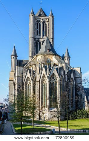 St. Nicolas Church In Ghent, Belgium