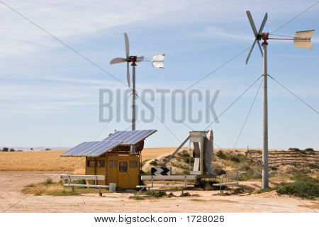 Homemade Wind And Solar