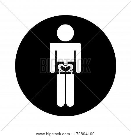 x-rays with patient medical isolated icon vector illustration design