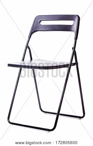 Foldable Chair On White