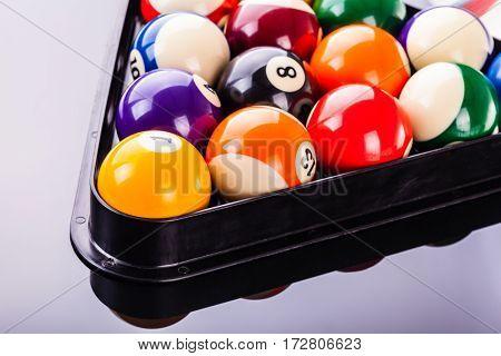 Snooker Balls Detail