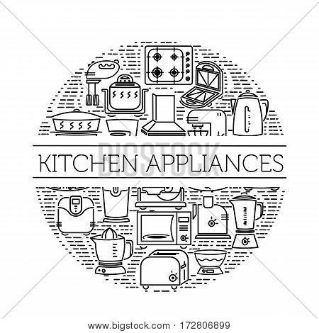 Kitchen Appliances Icons