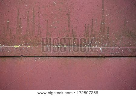 Rusted Iron Blank Metallized Background