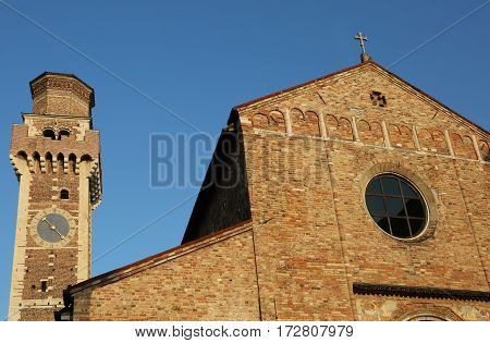 Vicenza Vi Italy Paleochristian Basilica Of Saints Felice And Fo