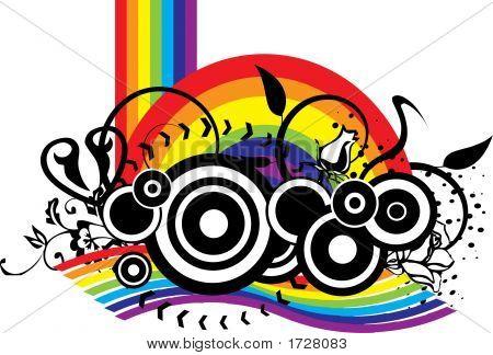Rainbow Grunge Mess