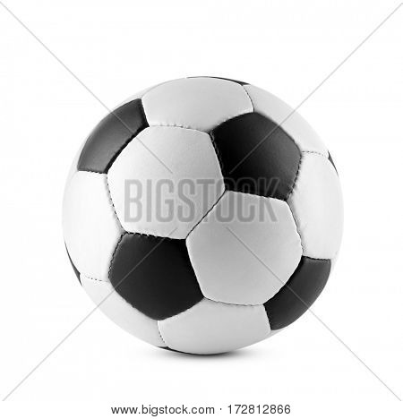 Soccer ball, isolated on white