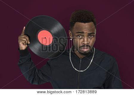 African Guy Studio Shoot Portrait People Race