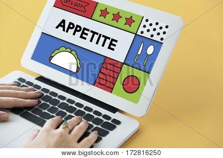 Food Preparation Lifestyle Appetite Illustration