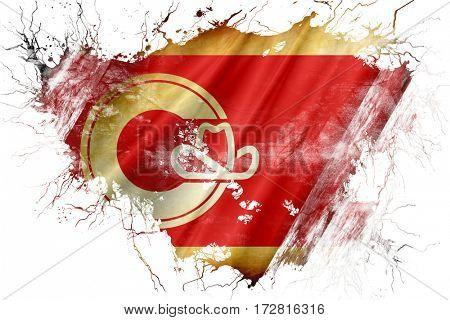 Grunge old Calgary flag