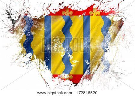 Grunge old Cambridgeshire flag