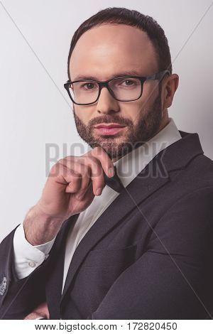 Handsome Confident Businessman