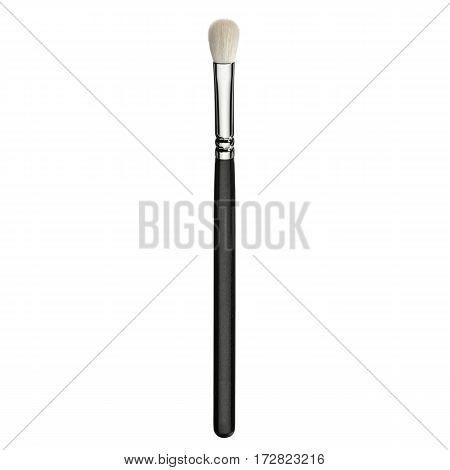Foundation Powder Brush Isolated On White Background. Eyeshadow Brush. Makeup Brush. Studio Retracta