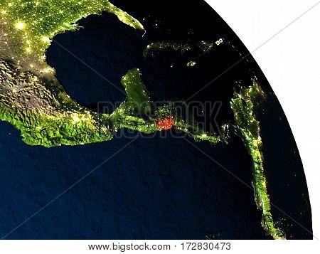 El Salvador From Space