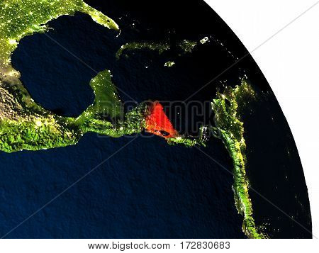 Nicaragua From Space
