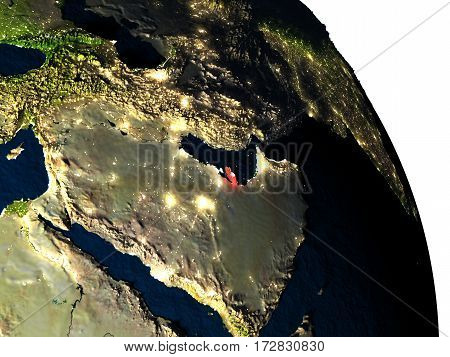 Qatar From Space