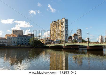 The city of Recife in Pernambuco, Brazil