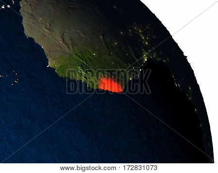 Liberia From Space