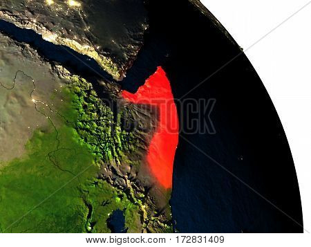 Somalia From Space