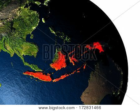 Indonesia From Space