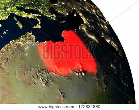 Libya From Space