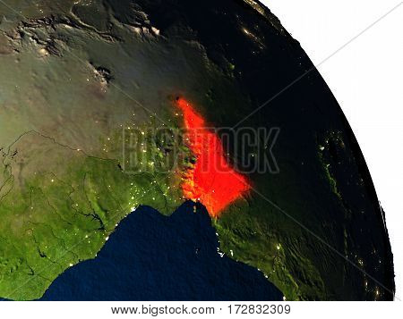 Cameroon From Space