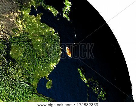 Taiwan From Space