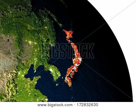 Japan From Space