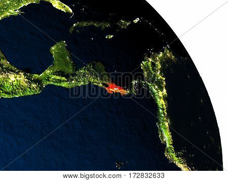 Costa Rica From Space